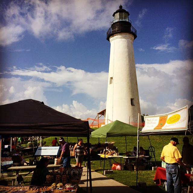 #portisabel #portisabeltx #lighthouse Lighthouse Market Day at the Port Isabel Lighthouse Square! #texastodo