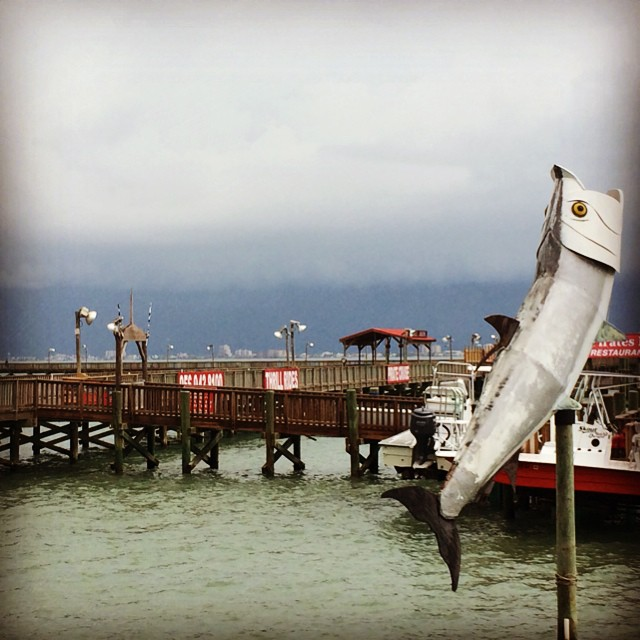 Approaching weather that is just now here! #lagunamadrebay #spi #portisabeltx #portisabel
