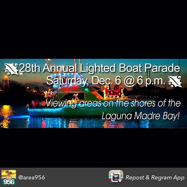 Saturday! 6pm #texastodo #christmaslightedboatparade #portisabel