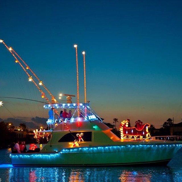 #lightedchristmasboatparade Coming up this Saturday at 6pm! A Laguna Madre festive spectacle! 28th Annual Christmas Lighted Boat Parade!