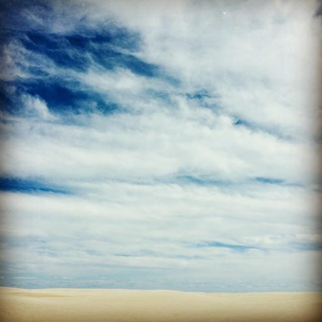 Sand dunes on #SPI. A south Texas