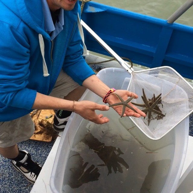 Aboard the Osprey in the Laguna Madre Bay #portisabel #southpadreisland #spi #starfish