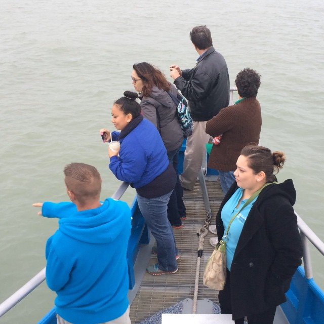 Aboard the #osprey looking for Dolphins! #southpadreisland #portisabel