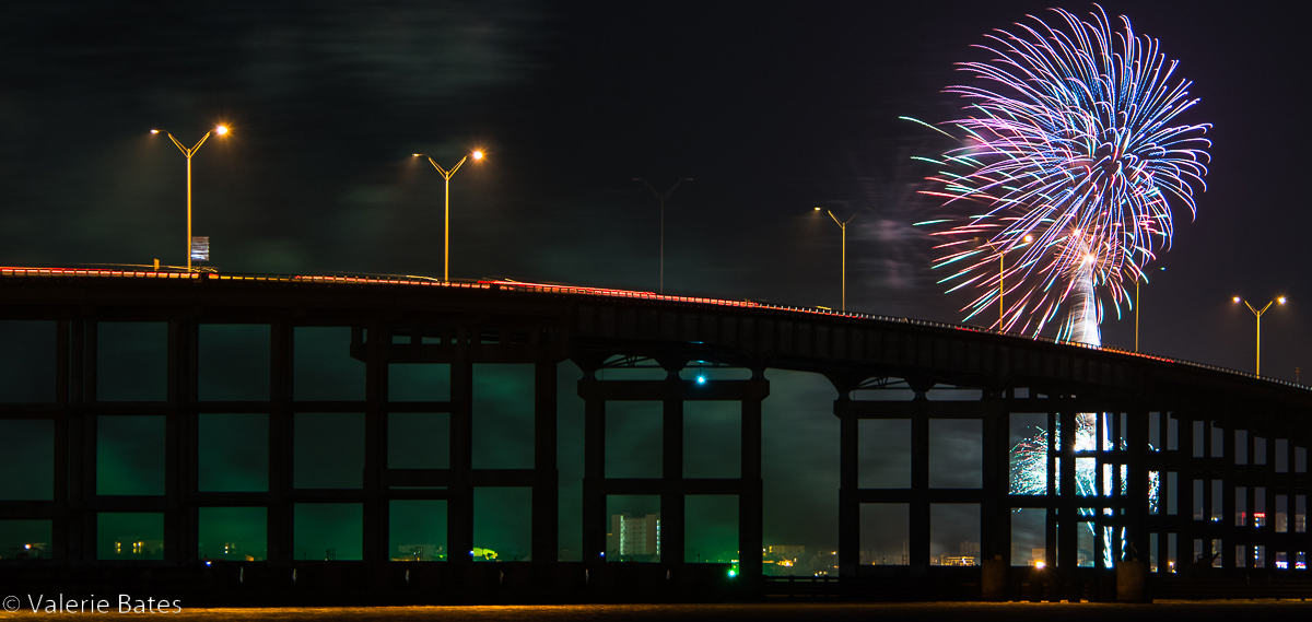 Fireworks over the Laguna Madre Bay! Memorial Day to Labor Day, Friday nights!