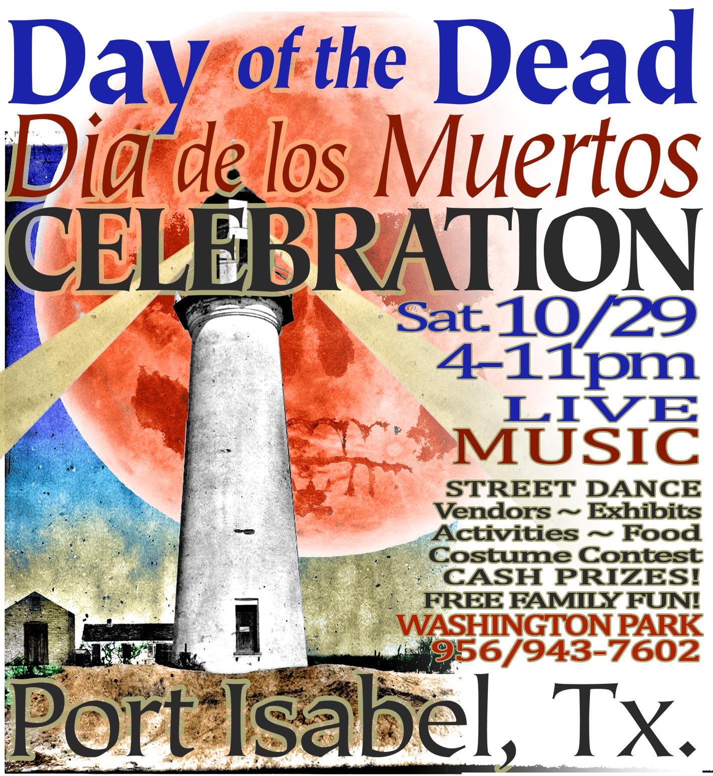 Day of the Dead Celebration ~ Dia de los Muertos! Washington Park. 10/29 4 - 11 p.m.